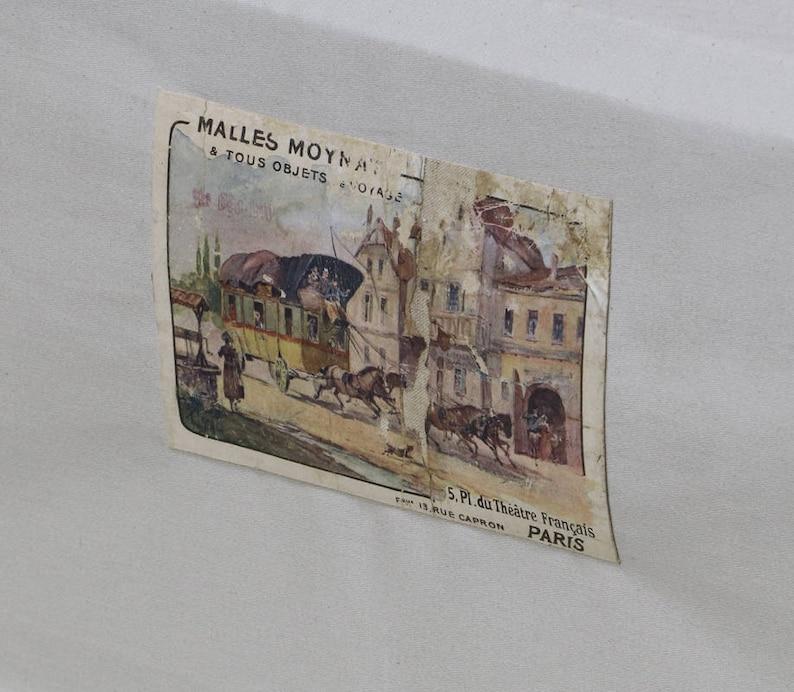 1910 Moynat Cabin Trunk