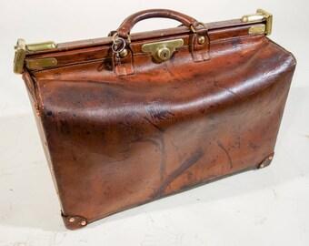 R1932 leather travel bag
