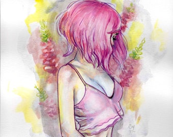 Full Bloom - Original painting