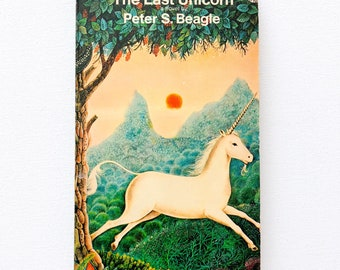 The Last Unicorn   1971   Peter S Beagle   First Edition   Vintage   Rare  and Collectable a3fbebeeba6c