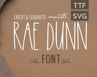 Rae Dunn Font Svg, FARMHOUSE FONT SVG, Rae Dunn Inspired Font, Rae Dunn Cricut,  Rae Dunn Christmas, font cricut