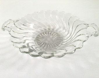 Fostoria Glass Company Colony Two Handled Bowl