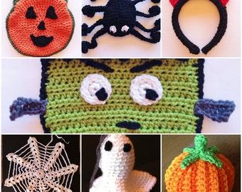 7 Fun Halloween Crochet Patterns!