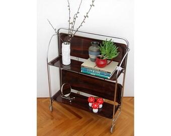 Wonderlijk Vintage bar cart | Etsy PW-71