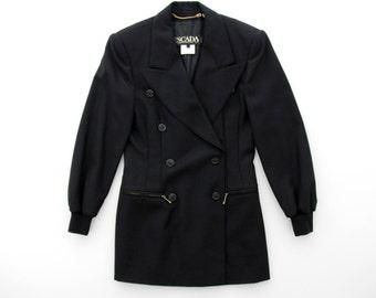 Vintage Jacket // Escada Black Blazer