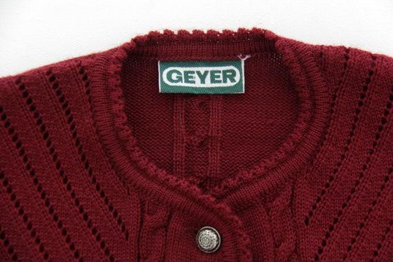Vintage Sweater // 1970's 1980's Geyer Trachten A… - image 4