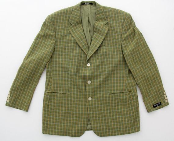 Vintage Men's YSL Jacket // Yves Saint Laurent Bla
