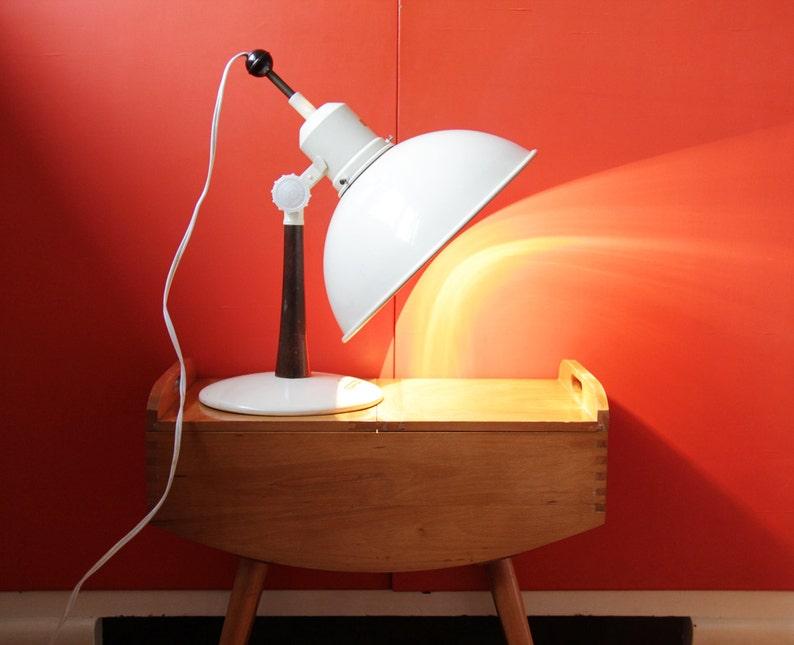 Vintage Lamp  Industrial Desk Lamp  Heat Lamp  Thermolux Bestrahlungslampe