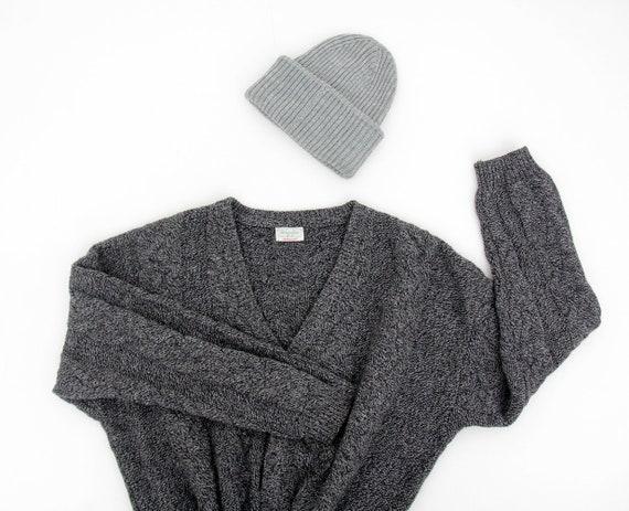 Vintage Sweater // Benetton Shetland Wool Fisherma