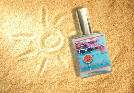 Watermelon Candy Hair Perfume - Hydrating Hair Mist, Argan Hair Milk or  Argan Hair Gloss Silk Protein, and Vitamin B - 2 oz