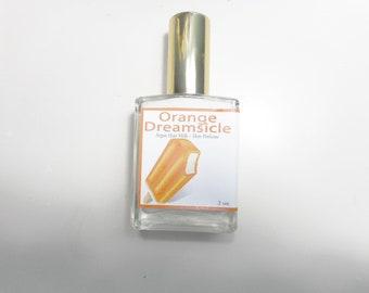 Orange Dreamsicle Hair Perfume - Hydrating Hair Mist, Argan Hair Milk or Argan Hair Gloss Silk Protein, and Vitamin B - 2 oz