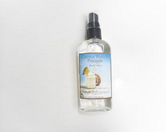 Coconut Water & Pineapple  Body Mist - Inspired by BBW Live Fresh Seaside Breeze -Body Splash and Shimmering Body Spray 4.7 oz
