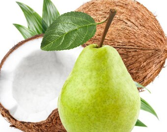 Coconut Pear  - Body Butter, Body Cream, Hair Perfume, Dry Shampoo, Body Spray, Body Oil, Perfume,Sugar Scrub, Body Mist
