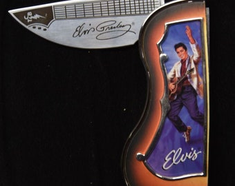 "Elvis ""Heartbreak Hotel"" collectors knife (N0161)"
