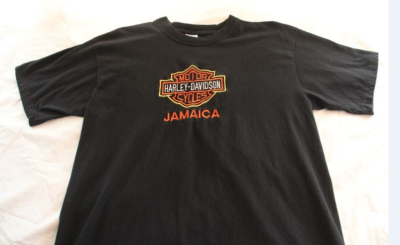 Jamaica Harley-Davidson embroidered T-shirt  size XL  image 0