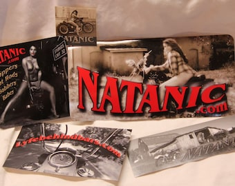 Natanic Sticker pack - ALL 5 designs!