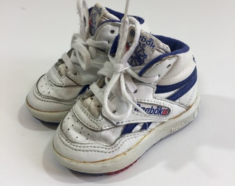 01be4839be42 Vintage Reebok Baby Shoes - Size 3 - Reebok Sneakers - Vintage Sneakers -  80 s Sneakers - 80 s Baby Shoes - 80 s Shoes - 80 s Reebok