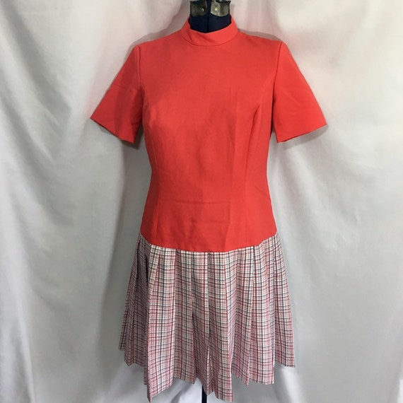 Women's Vintage 60's Mod Dress - Large Mod Dress -