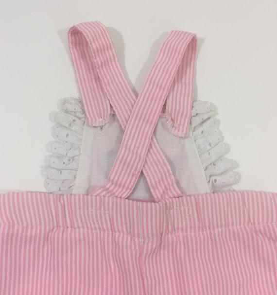 Vintage Baby Girl's Overalls - 3 Month Vintage - … - image 4