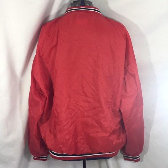 Details zu STARTER Chicago Bulls NBA Jacke Winter Jacket Vintage Kapuze Basketball 90er L