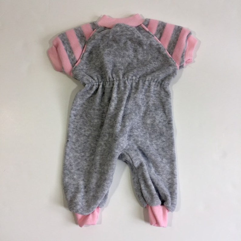 NB Newborn Romper Vintage Playskool 80/'s Romper Vintage Romper Vintage Terrycloth Vintage Baby Girl/'s Romper Vintage Pajamas