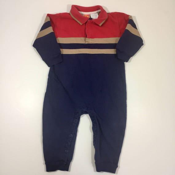 2f082fc85559 Vintage McKids Romper 24 months Boy s Romper Vintage