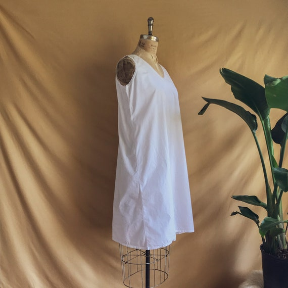 Antique White Cotton Night Dress - Antique Cotton… - image 4