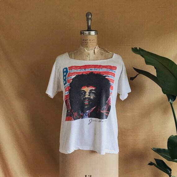 Vintage 1980/90 Jimi Hendrix T-Shirt - 90s Jimi He