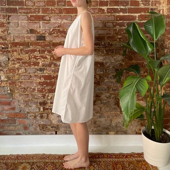 Antique White Cotton Night Dress - Antique Cotton… - image 4