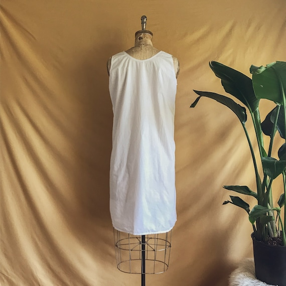 Antique White Cotton Night Dress - Antique Cotton… - image 5