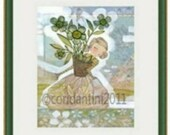 Dark Green 9x14,11x14, or 12x12 Colorful Picture Frame for Cori Dantini Prints. FRAME ONLY