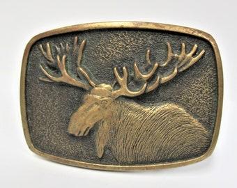 Siskiyou Moose Large Steel Money Clip