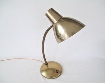 Vintage Gooseneck Desk Lamp Post It Desk Organizer