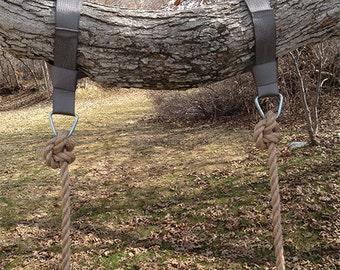 Tree Swing Hanging Kit (Two Straps)