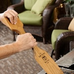 The Ultimate BBQ Cleaning Tool - Woody Paddle