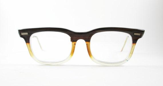 d6bcefd6a88 Vintage Eye Glasses Art Craft Mens Frames Eyewear Mid Century