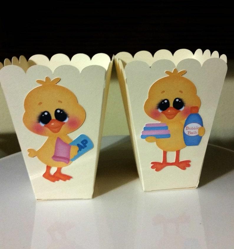 baby shower favor boxes popcorn boxes duck favor boxes favor boxes set of 12