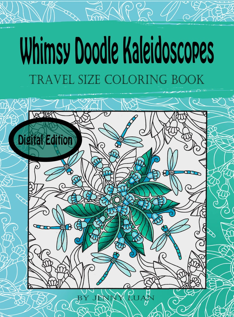 Digital Edition Whimsy Doodle Kaleidoscopes travel size image 0