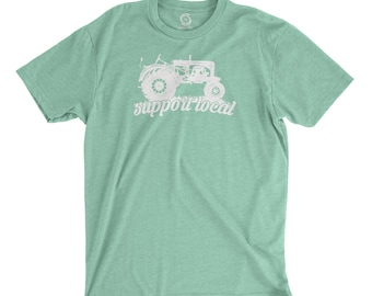 Custom, eco-friendly Support Local graphic t-shirt that's handmade right here in Arkansas and super-soft