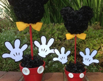 Mickey Mouse Centerpiece 12 Inch Party Decorations
