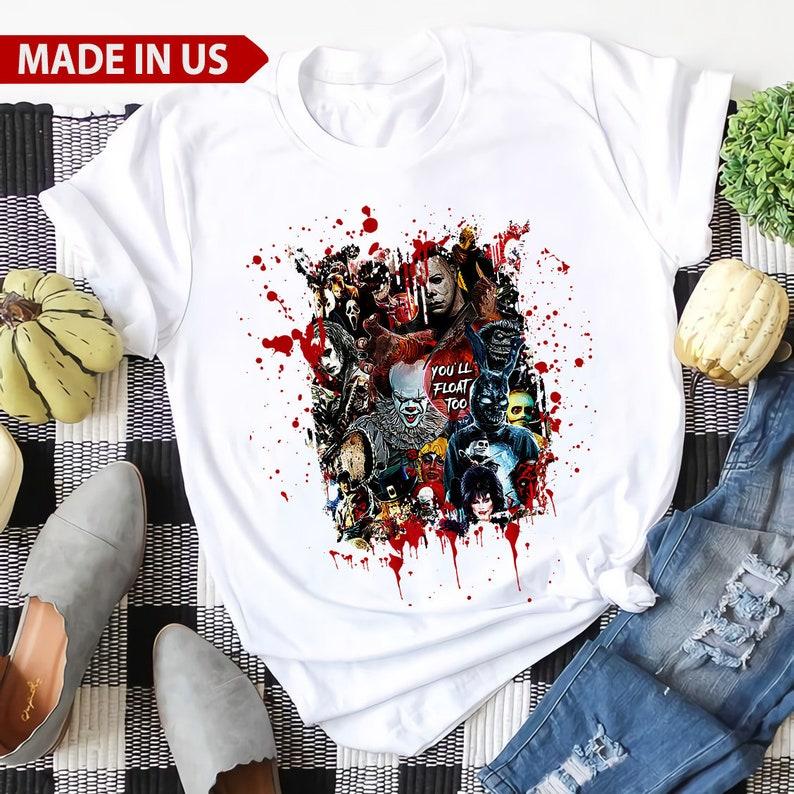 Friends Horror Movies Shirt