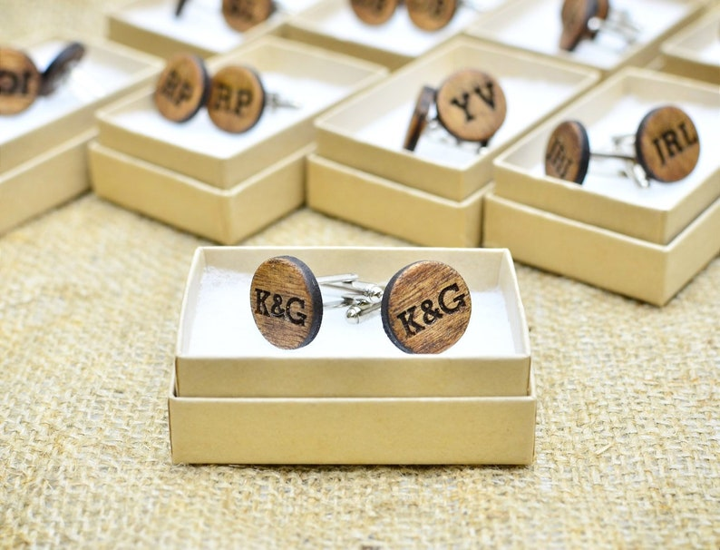 Unique Groom Gift Wedding Day Gifts Personalized Cuff Links Etsy