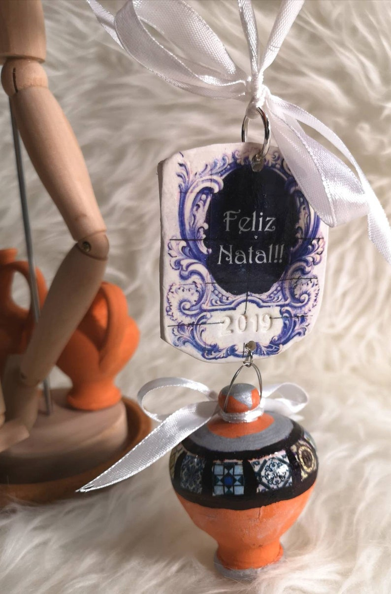 Exclusive Christmas ornament Tipycal Portuguese. image 0