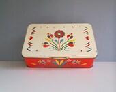 Sale......1950s Vintage tin, Italian tin, Collectable vintage tin, Pane degli Angeli, Genova