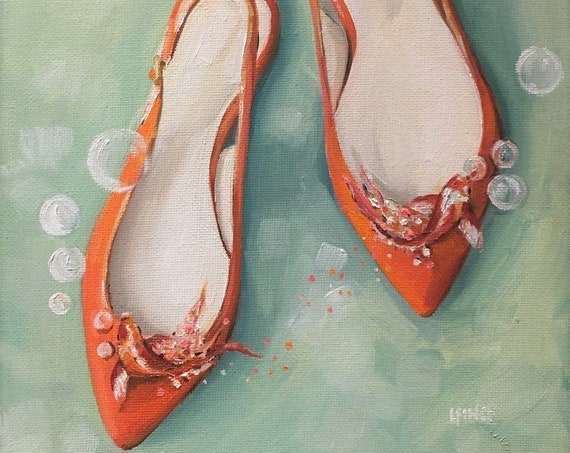 Slingbacks - Fine Art Print