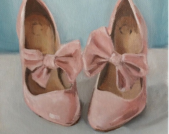 Pink With Bows - Fine Art Print