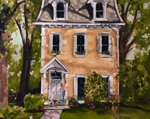 The Honey House - Fine Art Print