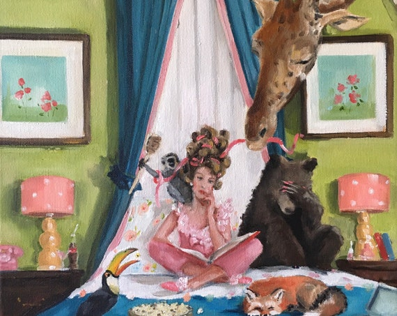 Slumber Party - Fine Art Print