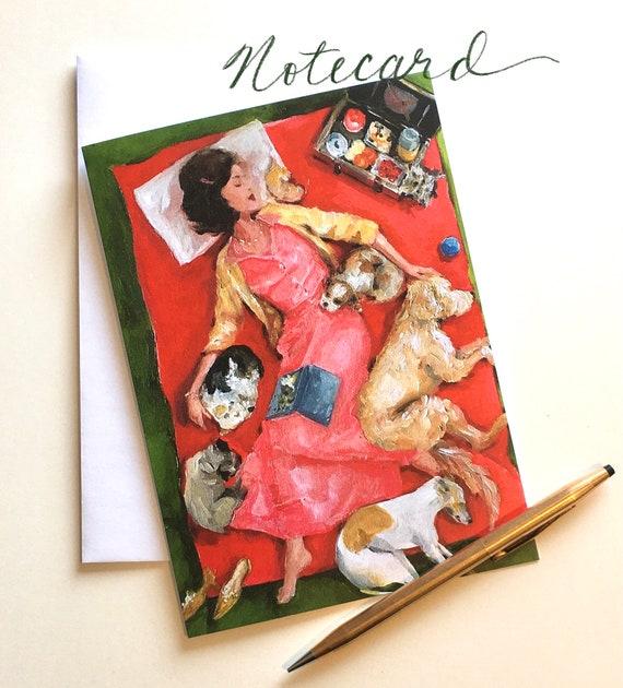 Notecard - Dreamers