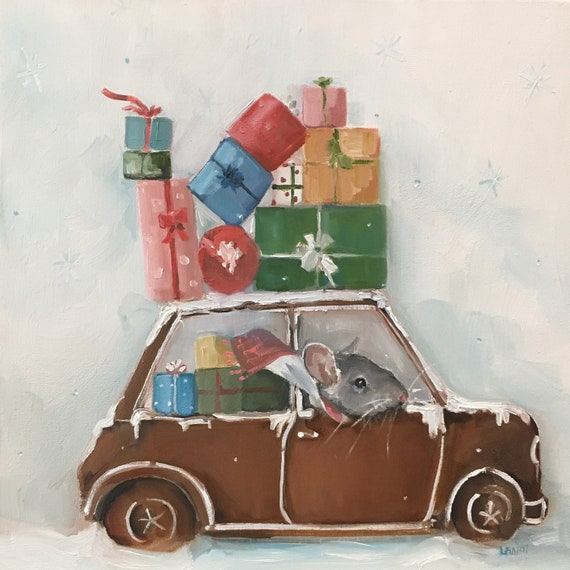 The Gingerbread Car - Fine Art Print